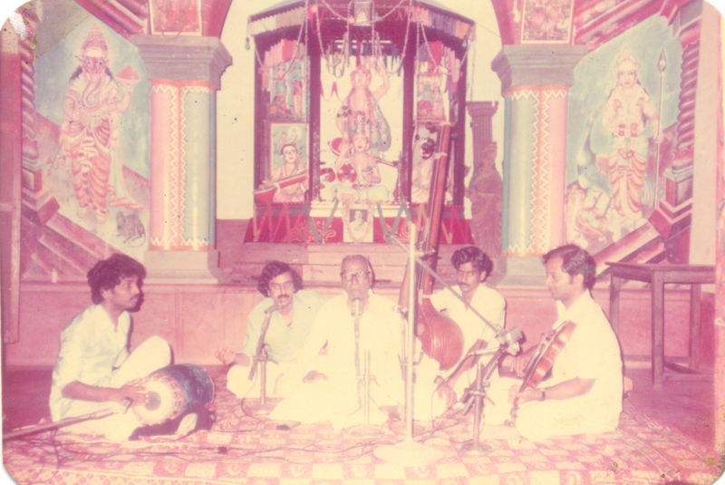 Vocal - RK Shrikantan, Vocal Support-RS Ramakanth, Violin- Kanchana V Subbarathnam, Mridangam-Bangalore V Praveen