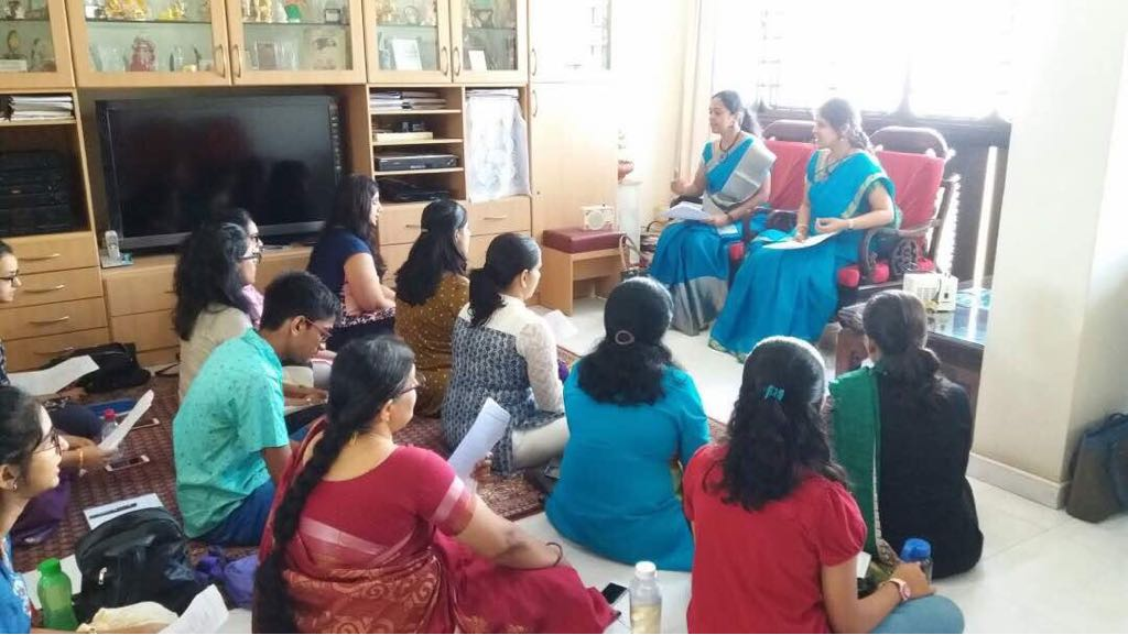 Workshop in Singapore by Kanchana sisters