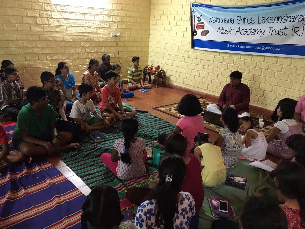 Konnakkol Workshop by Somashekhar Jois