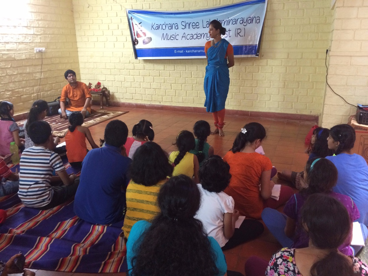 Dance Workshop - Resource persons - Niveditha Nadig and Amith Nadig